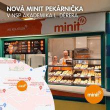 Nová MINIT pekárnička v NSP L. Dérera