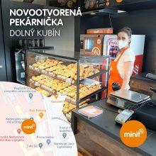Nová pekárnička Dolný Kubín