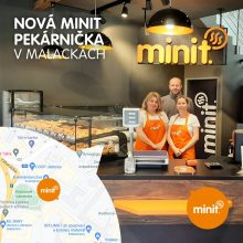 Nová MINIT pekárnička v Malackách