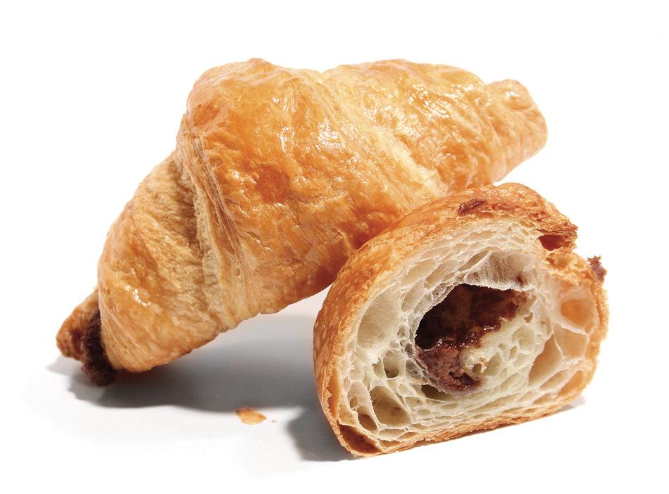 Mini croissant nugat image2
